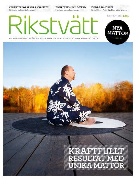 Rikstvätts kundtidning höst/ vinter 2011
