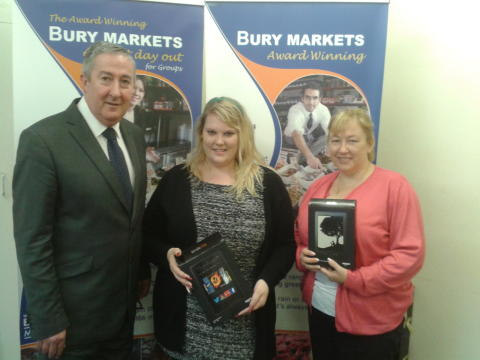Points make prizes on Bury Market