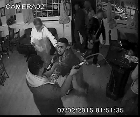 Appeal to identify man following pub fight