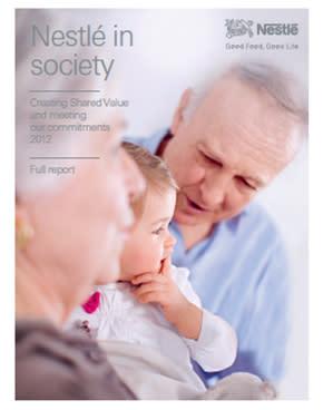 Nestlén yhteiskuntavastuuraportti 2012 julkaistu
