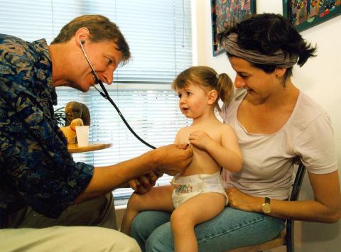 Vorsorgeuntersuchungen bei Kindern