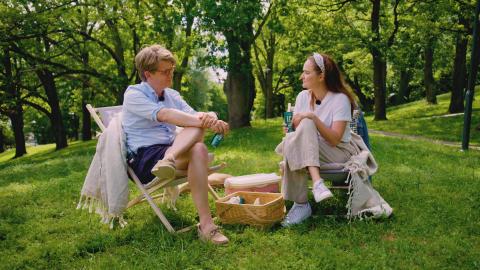 Hanna och Per i Löfbergs Frågan