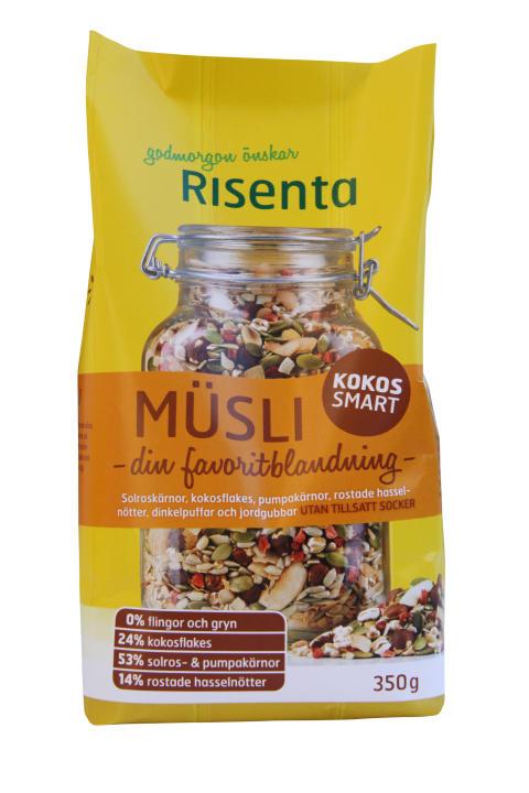 Risentas nya Kokos Smart och relanserade granola!