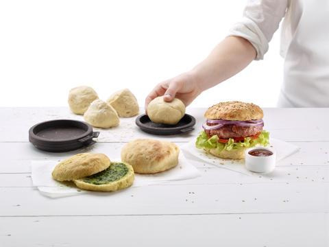 Gör dina egna hamburgerbröd