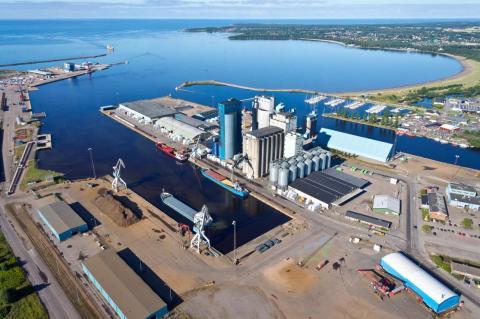 Ny affär till Hallands Hamnar Halmstad