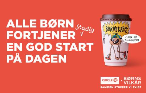 Circle K Danmarks Børnekaffe-kampagne større og vigtigere end nogensinde