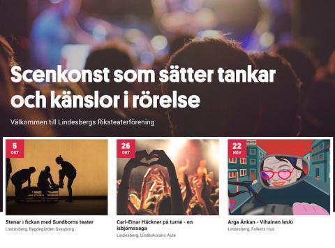 Direktsänd teater från Helsingfors visas på biografen i Lindesberg