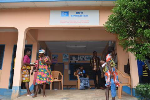 Boti epicenter, Ghana 2019