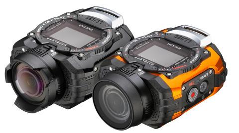 Ricoh WG-1M action-kamera gruppebillede