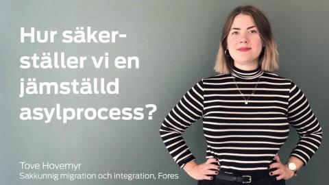 Pressinbjudan: Jämställdhetspolitiska målen vid förändrad migrationslagstiftning