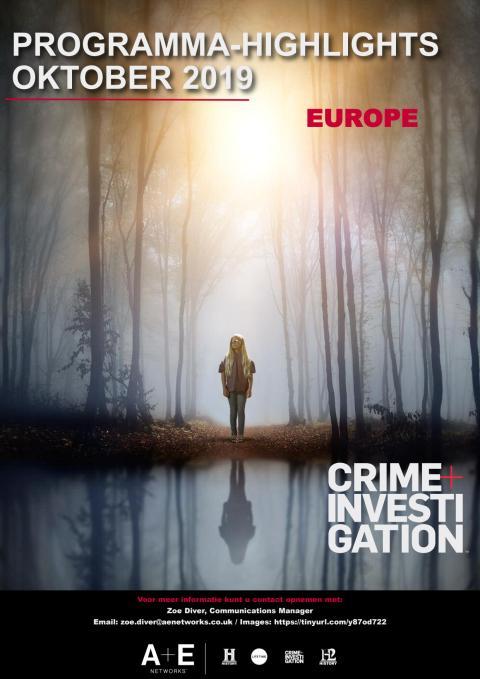 Crime+Investigation Programma - Highlights Oktober 2019