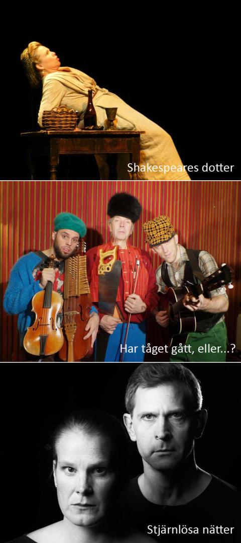 Höstens teaterprogram för Lindesbergs Riksteaterförening