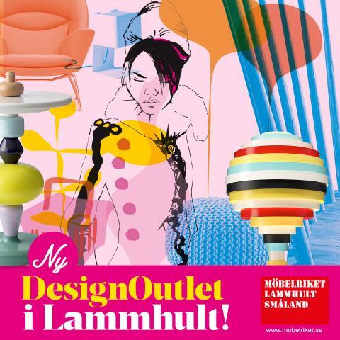 Premiär för en ny Designoutlet i Lammhult