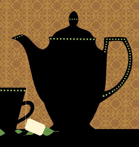 Afternoon tea i Stadsmuseets Källarstuga