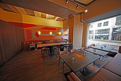 Restaurant mit australisch orientiertem Design