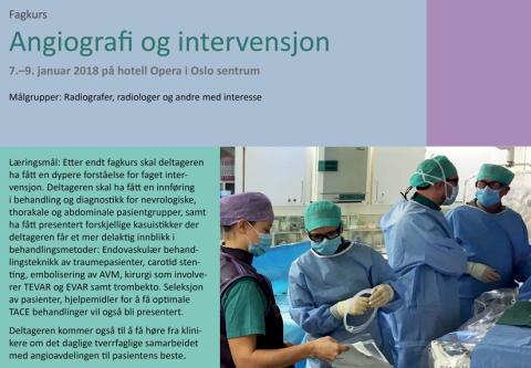 Angio og intervensjonskurs