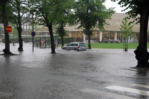 Växjö - första svenska kommun i Mayors Adapt