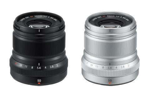 XF50mmF2 R WR Black and Silver