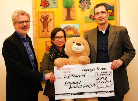 Leipziger Foren Holding spendet für Bärenherz