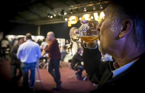 Årets mässöl för Nolia Beer bedöms i dag på bryggeriet Beer Studio i Umeå.
