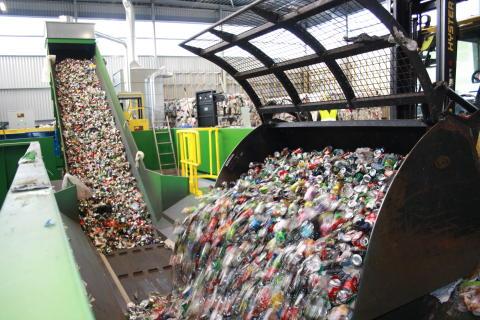 Affaldssortering på Reno-Nord