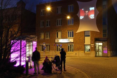 Invigning av Stadens ljus: Sorgenfri