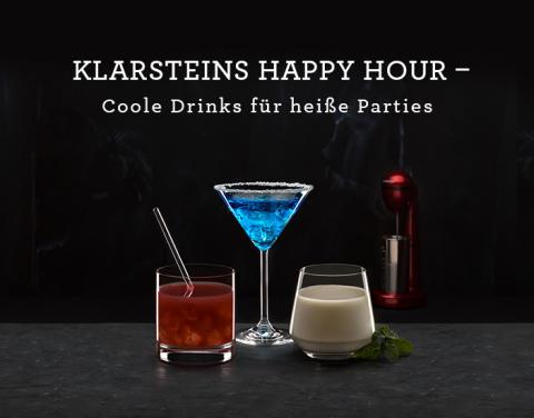 Die KLARSTEIN Cocktails 2017