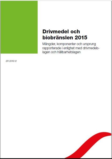 Drivmedel och biobränslen 2015