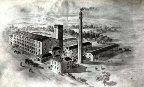 Hare Hill Mill in the 1800s
