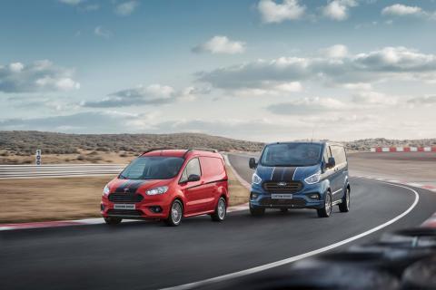Ford fornyer Transit Custom Sport – sterkere og like tøff