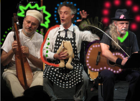 Blåbärsklubben - Picknickkonsert med X, Y, Zebraa