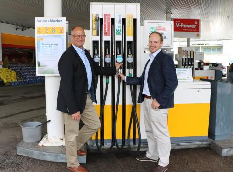 Shell tester fornybar diesel på Østlandet