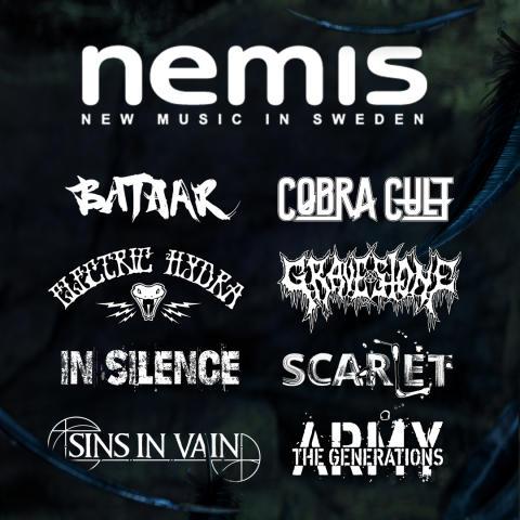 Årets Nemis-band till Sweden Rock klara