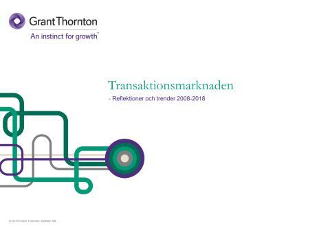 Transaktionsrapport 2008-2018