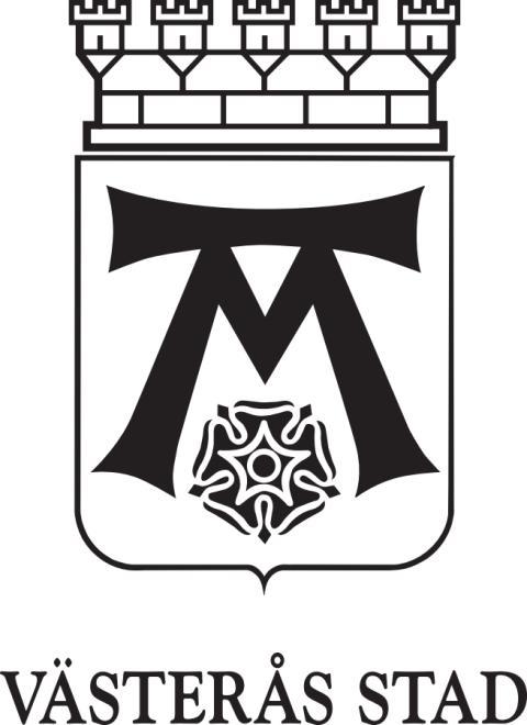 Västerås stad logotyp svart eps