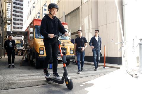 Spin elsparkcykel