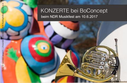 NDR Musikfest bei BoConcept Hannover