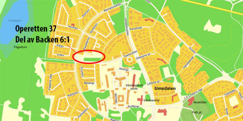 Detaljplan för nya bostäder och skola på Umedalen