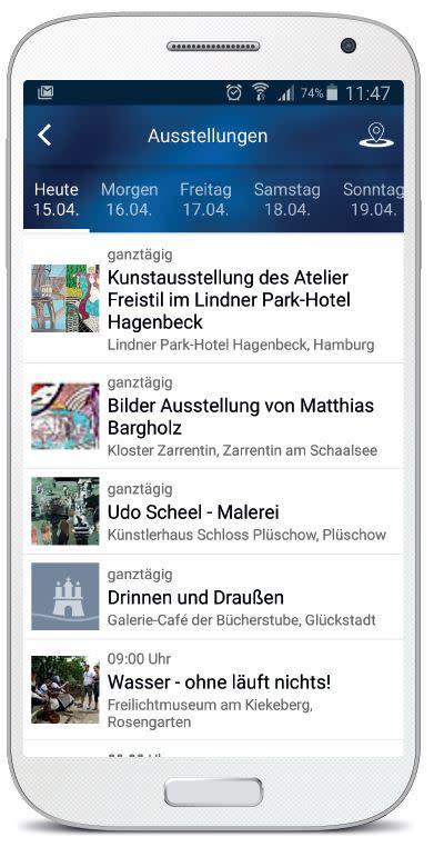Veranstaltungen Hamburg Android