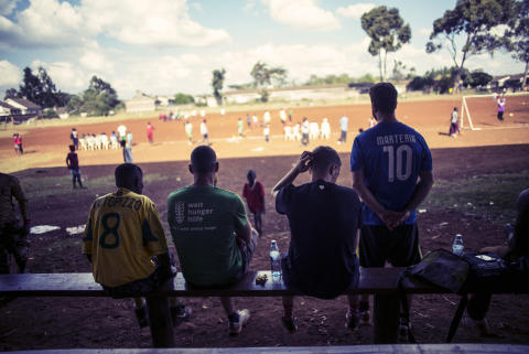 Kenya FOOTBALL MATCH by Paul Ripke