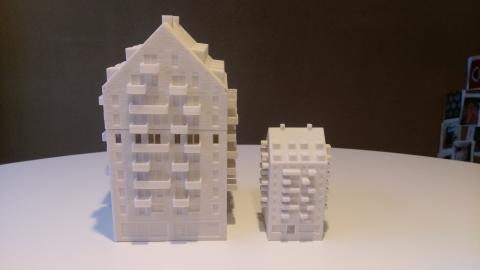 3D-modeller av Tingstorget