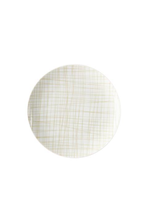 R_Mesh_Line Cream_Plate 19 cm flat