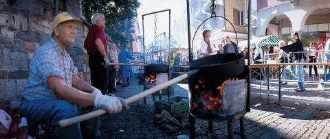 Kastanienfest in Ascona