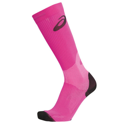 ASICS W'S COMPRESSION SOCK_Fiery Flame_SS14_110524_0273