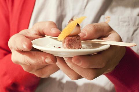 Composite Dinner - Nyskapande matkoncept av Konstfacks studenter