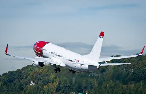 Idag landade Norwegians 50:e fabriksnya flygplan