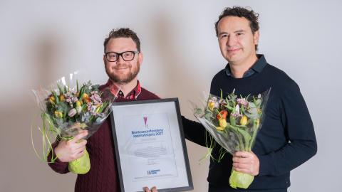 Barncancerfondens journalistpris går till UR och Simon Moser