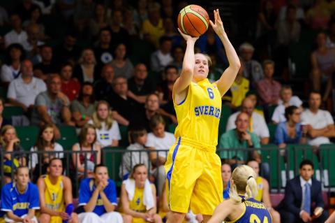 Svenska basketlandslagen spelar vidare med Molten