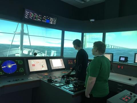 Studiepraktik og Maritime Technology Camp - Maritime studerende kom på dybt vand!