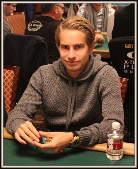 Alexander Roumeliotis inför WSOP 2013 Dag 3